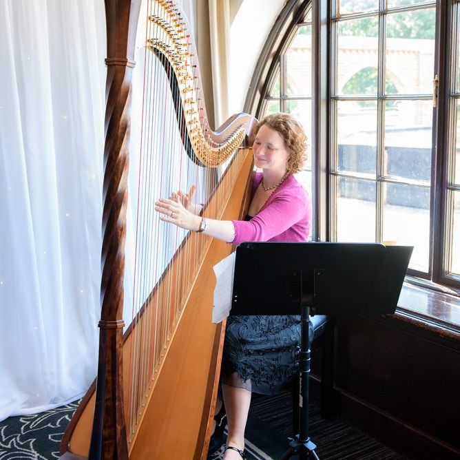 Jennifer Hill Harpist in Oxfordshire