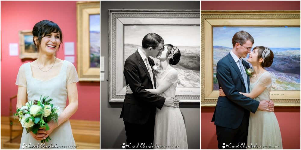 Wedding photographer at The Ashmolean