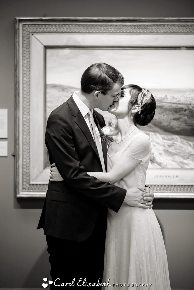 Wedding photographers at The Ashmolean Museum