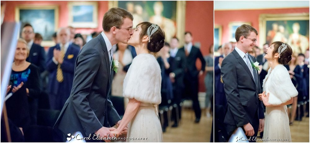 Wedding ceremony at The Ashmolean Museum
