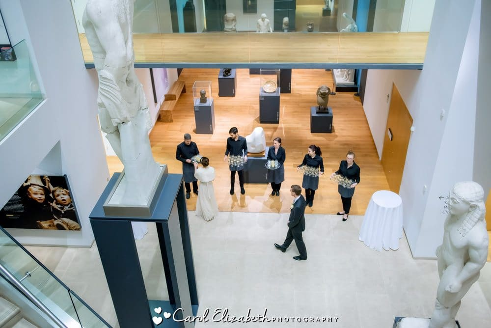 Wedding photography at The Ashmolean museum