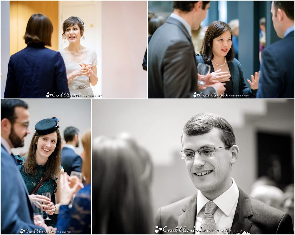 Reportage wedding photos at The Ashmolean
