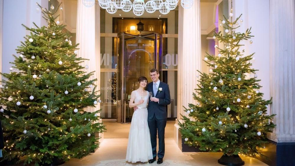 Christmas Wedding at The Ashmolean