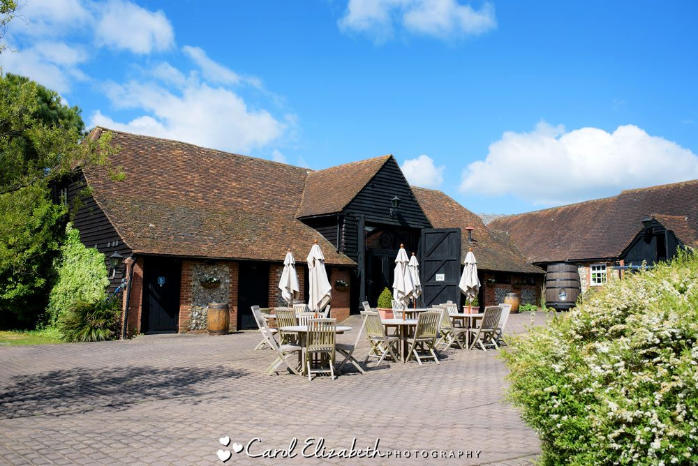 Weddings at Old Luxters Barn in Oxfordshire
