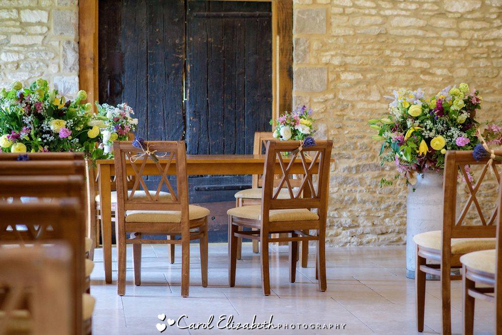 Caswell House wedding ceremony