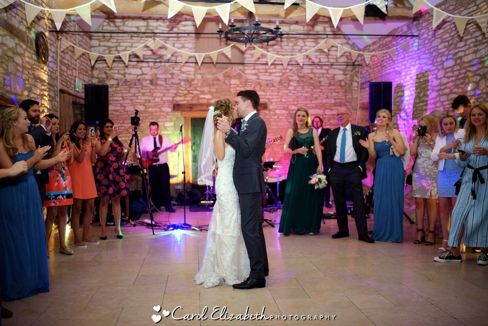 Caswell House wedding photography - first dance