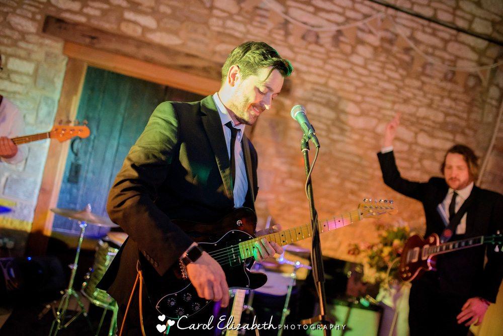 Get Carter wedding band
