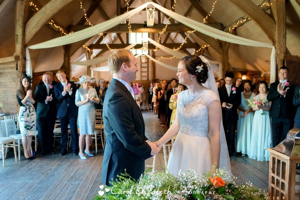 Lains Barn wedding photographer