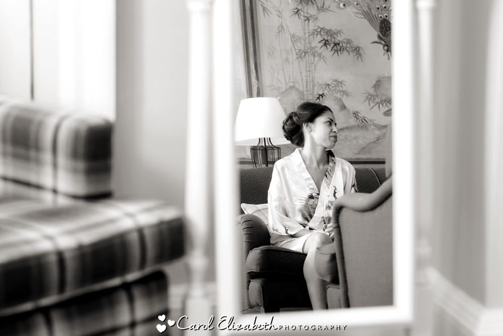 Bridal preparations at Eynsham Hall