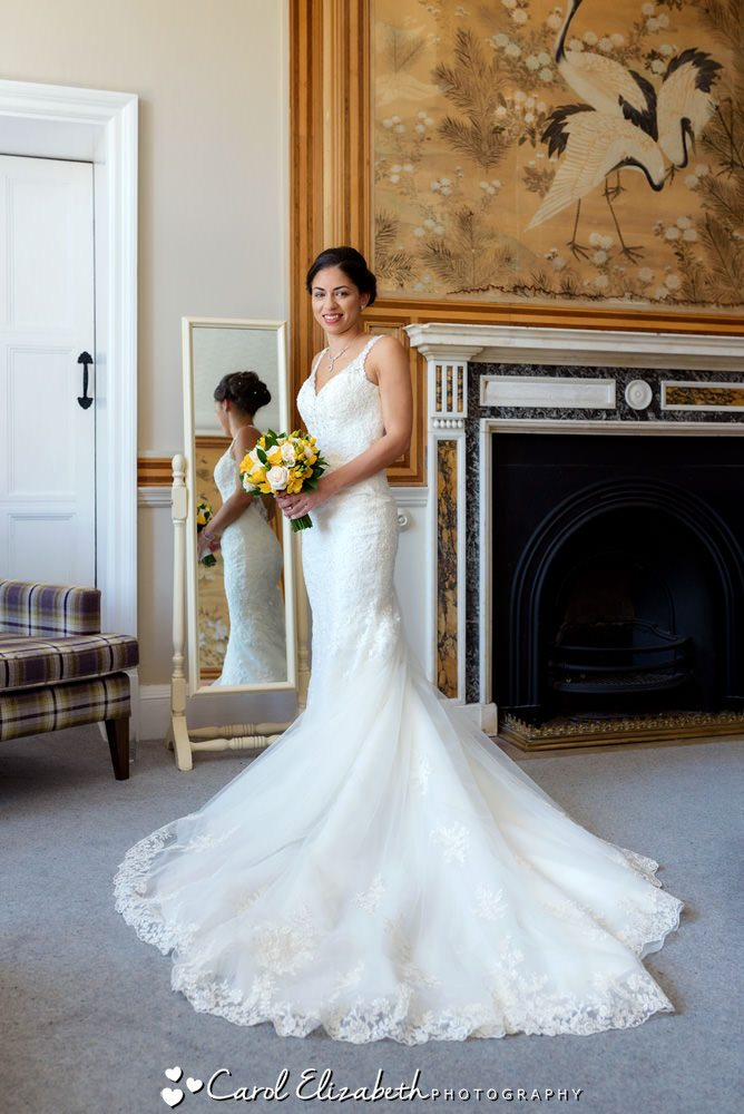 Eynsham Hall weddings in summer