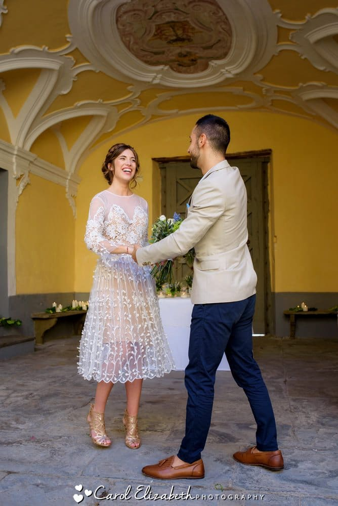 UK and Italy destination weddings