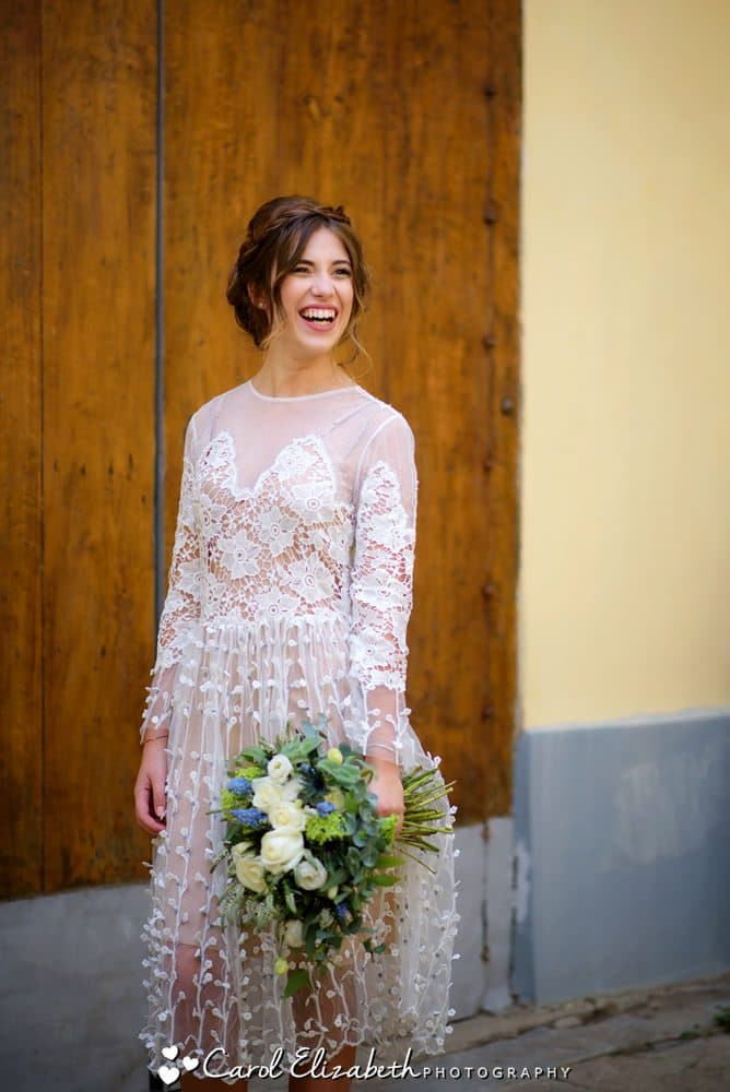Natural wedding photography in ITaly