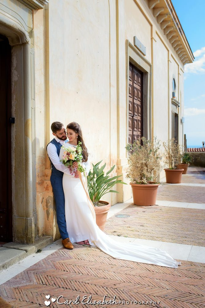 Sorrento wedding photography from UK