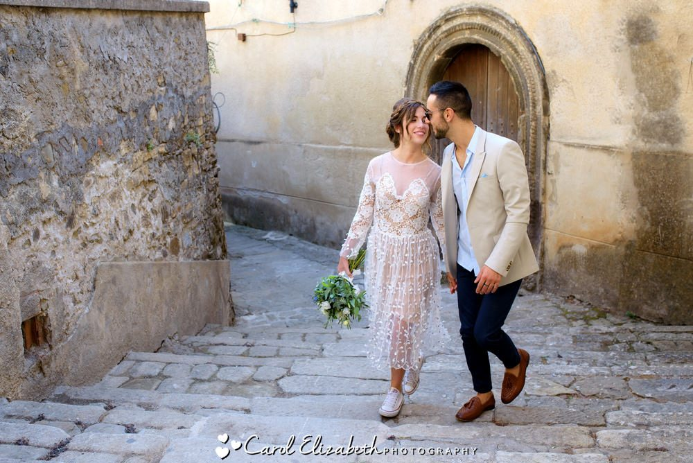 Italian coast wedding photography