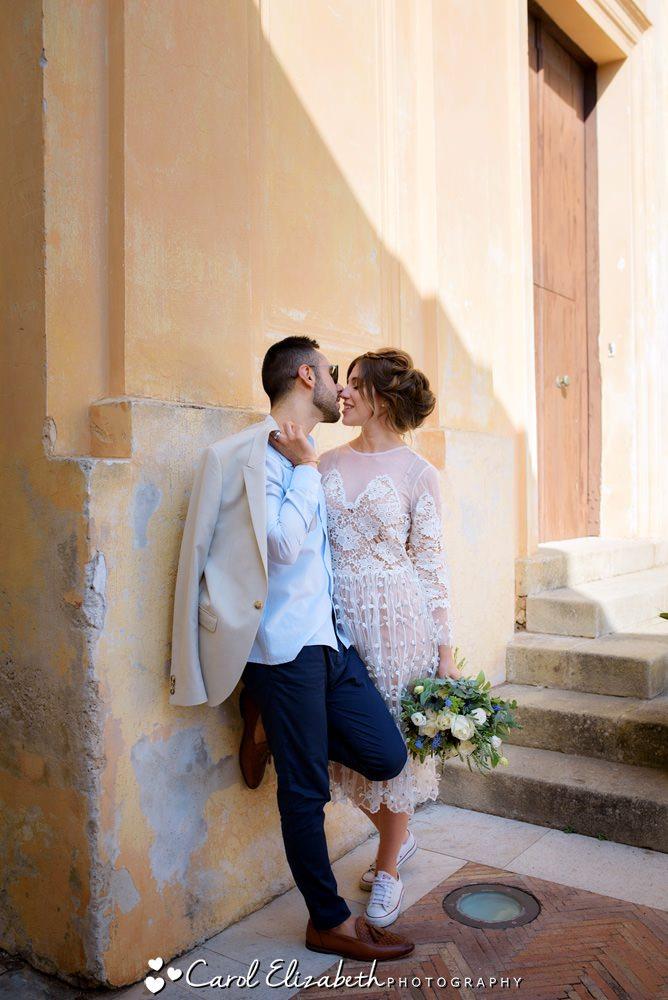 Sorrento wedding photographer from UK