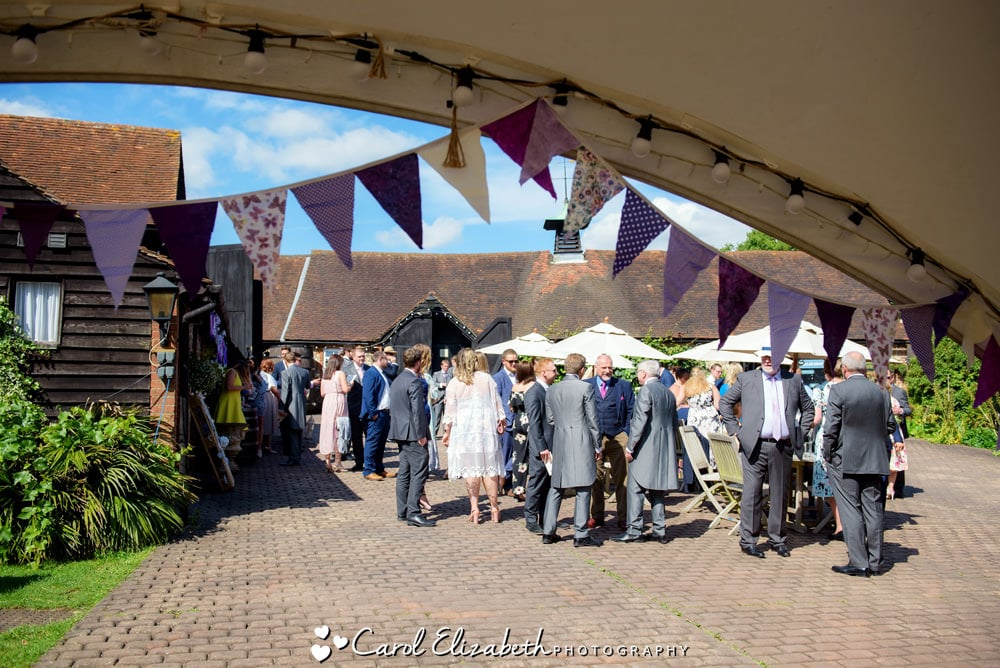 Wedding at Old Luxters Barn