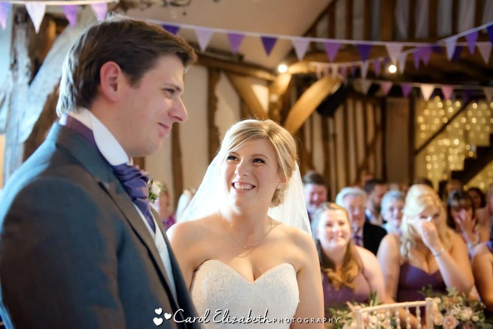 Old Luxters Barn wedding photographer