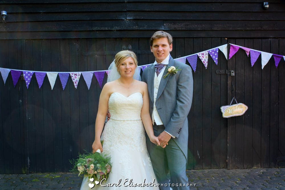 Rustic wedding at Old Luxters