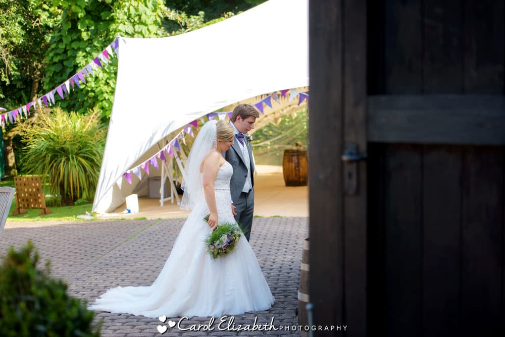 Reportage wedding photography in Oxfordshire