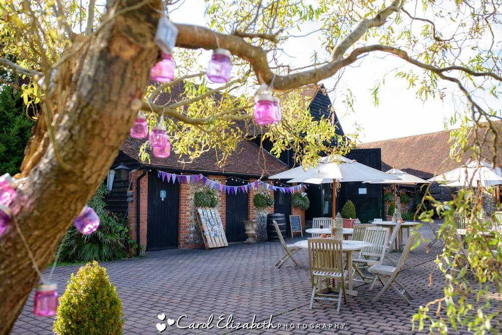 Old Luxters Barn wedding venue