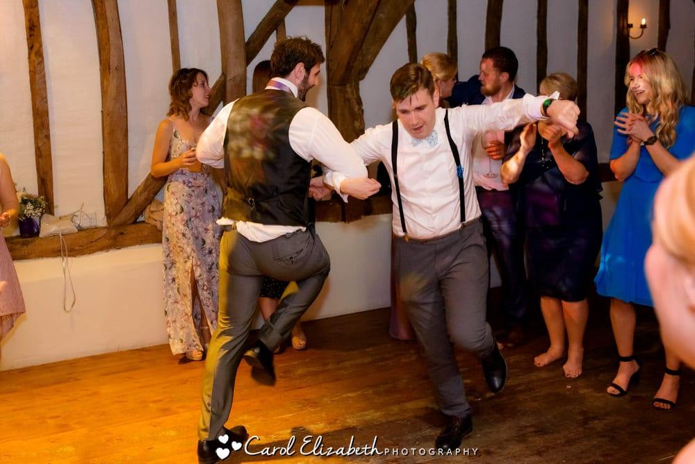 Ushers dancing