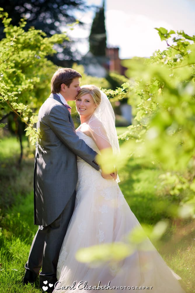 Romantic wedding photography at Old Luxters barn
