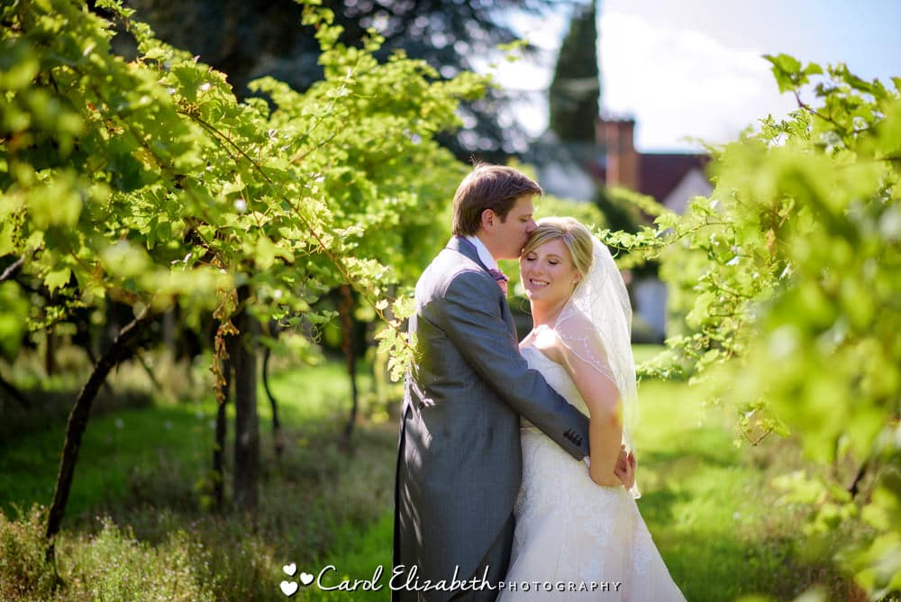 Old Luxters Barn wedding photo