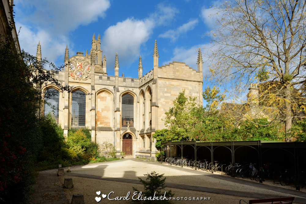 Oxford wedding photographer at All Souls College