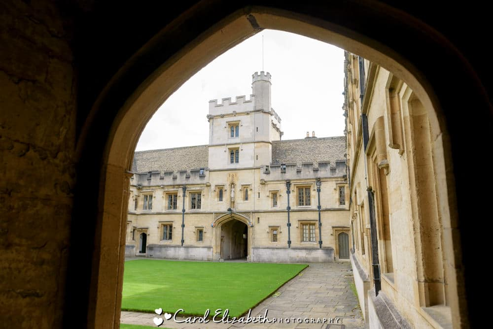 All Souls College archway