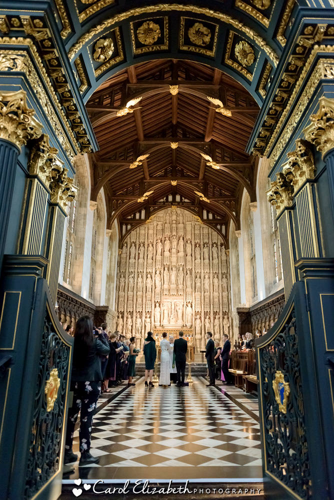 All Souls College wedding ceremony
