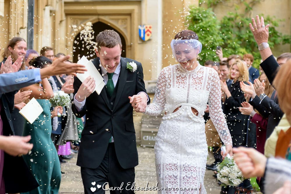 Fun and informal wedding photography