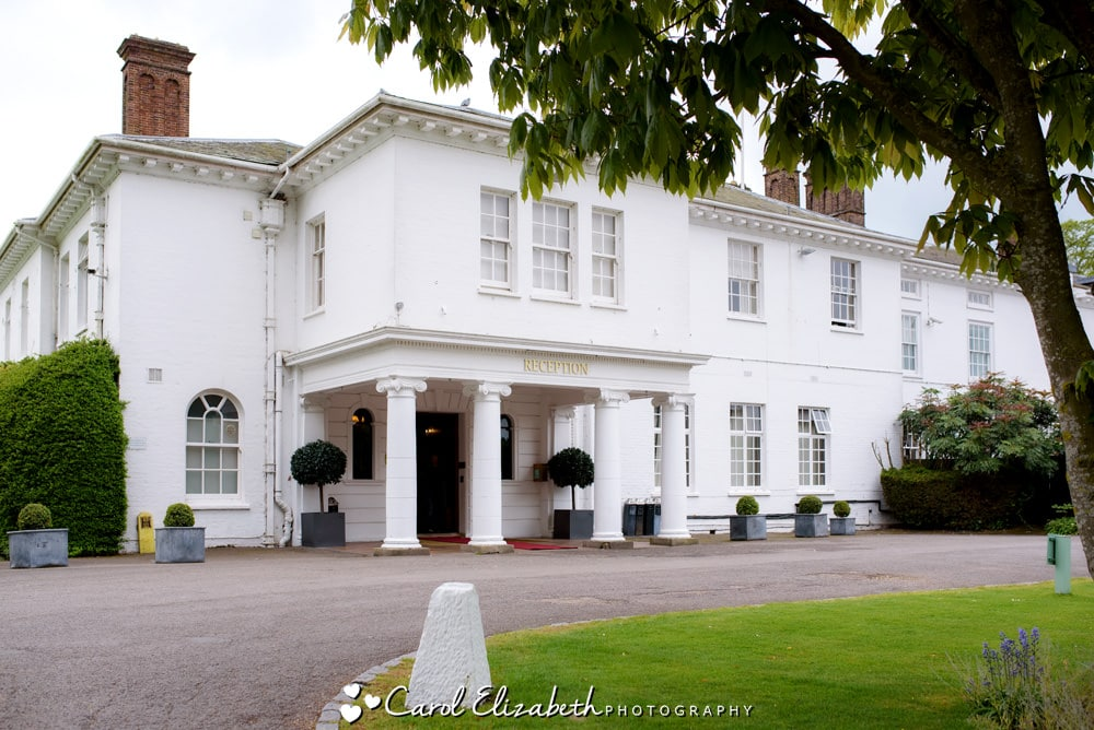 Milton Hill House Hotel wedding venue