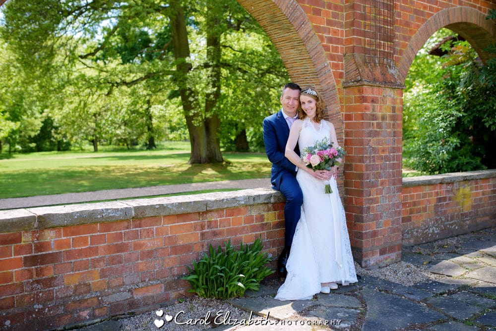 Wedding photos at Milton Hill House wedding