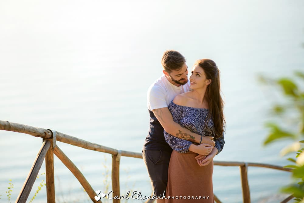 Couple pre-wedding photoshoot in Castellabate