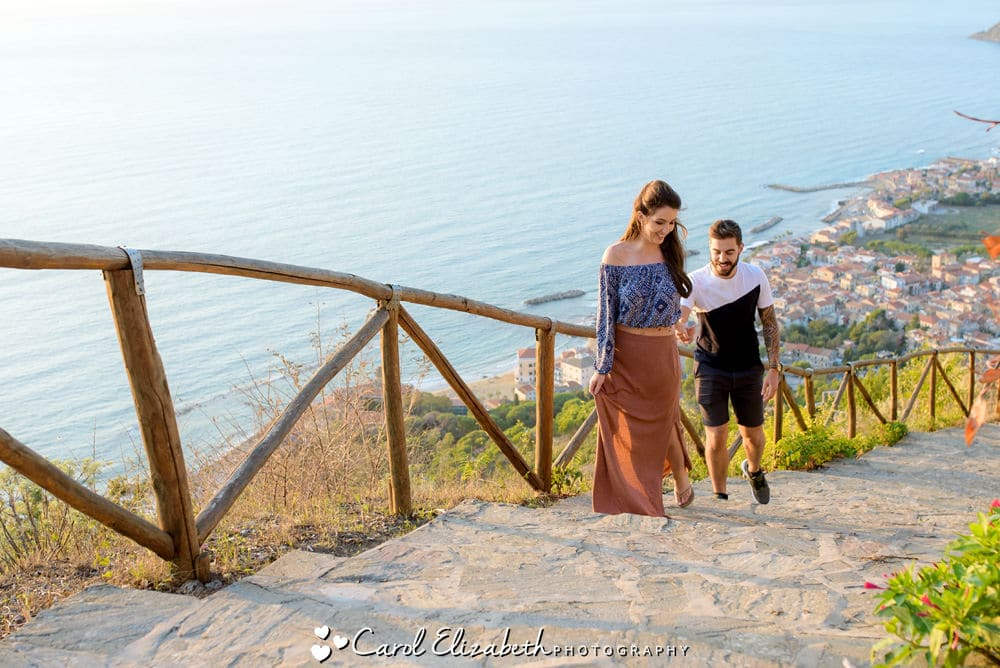 Wedding photographer in Castellabate