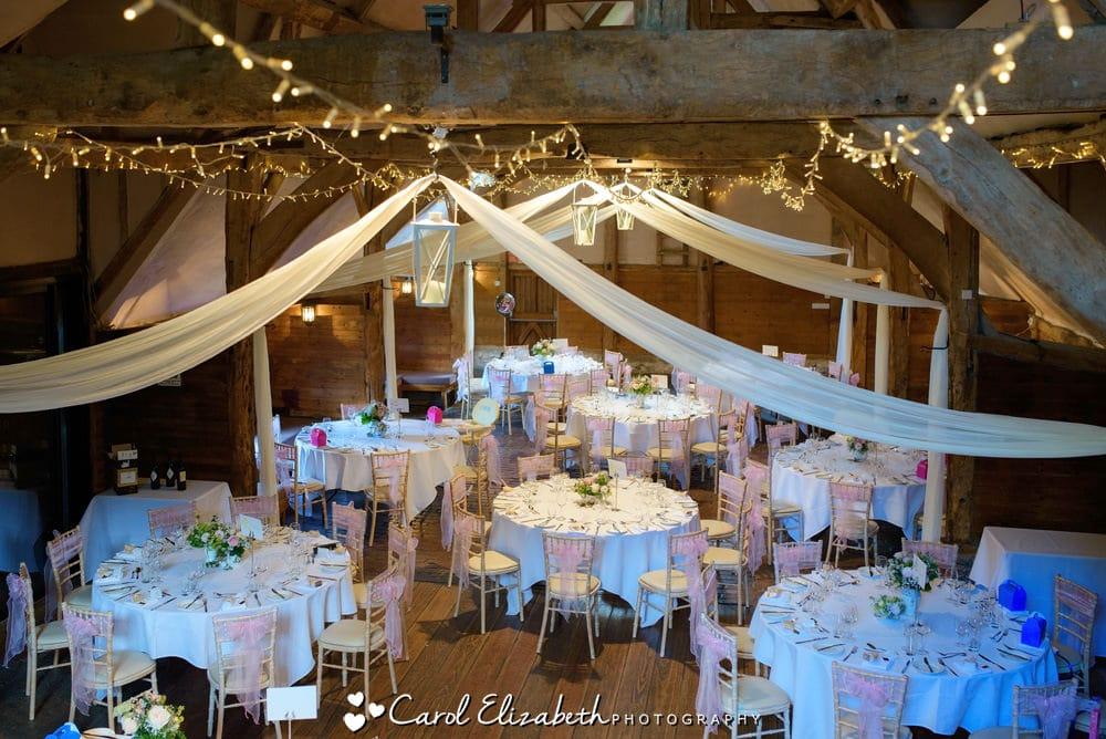 Lains Barn wedding venue
