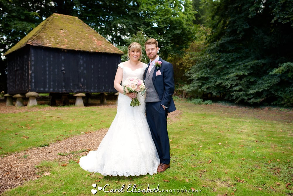 Lains Barn wedding photographer in Oxfordshire