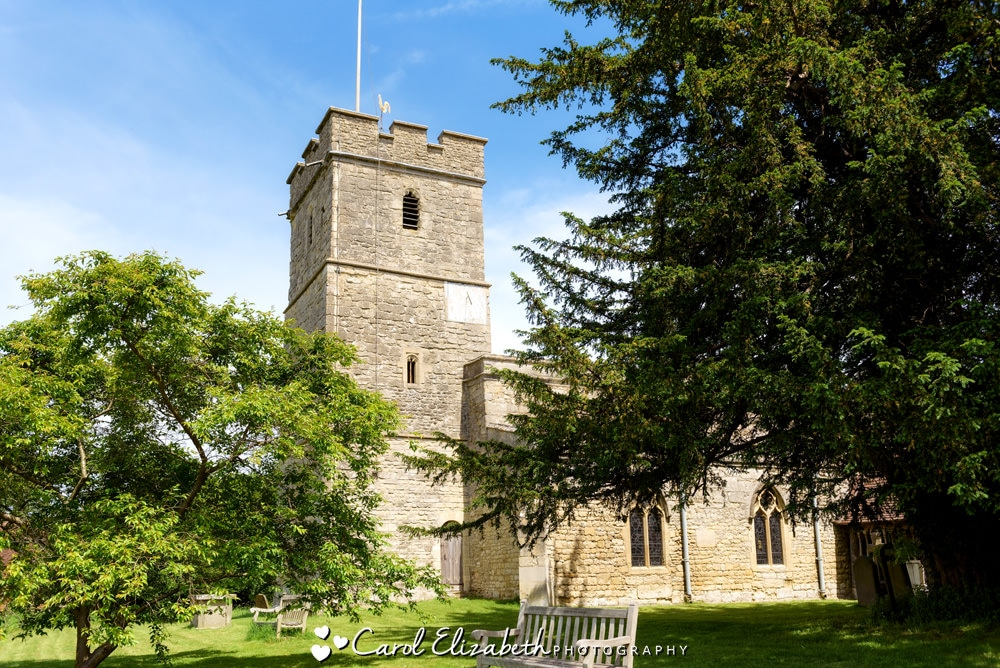 St Mary the Virgin church in Long Wittenham Oxfordshire