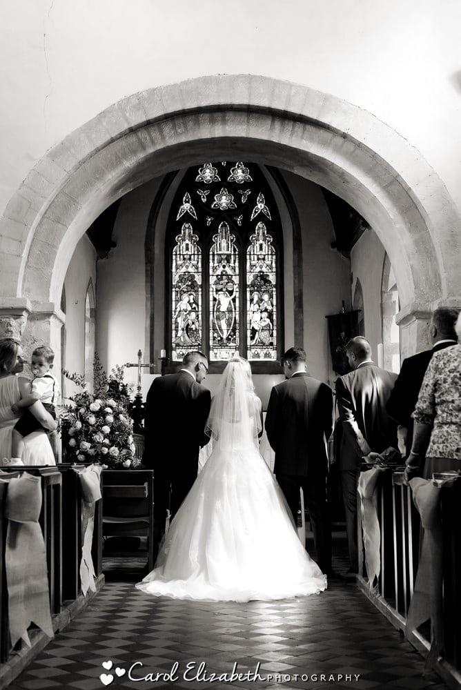 Classical church wedding photography in Oxford