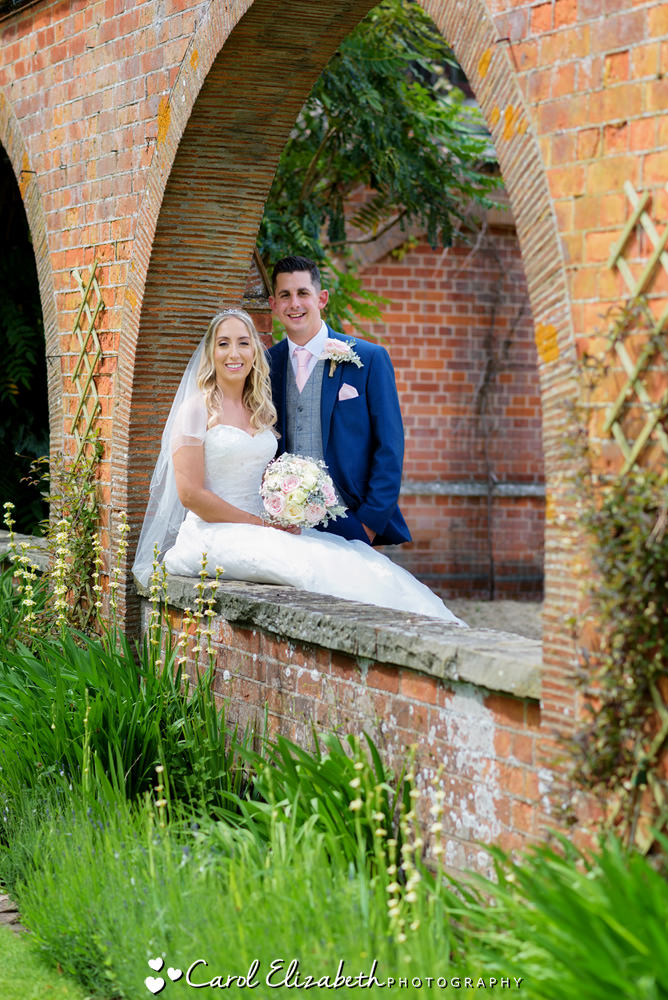 Bride and groom wedding photography at Milton Hill