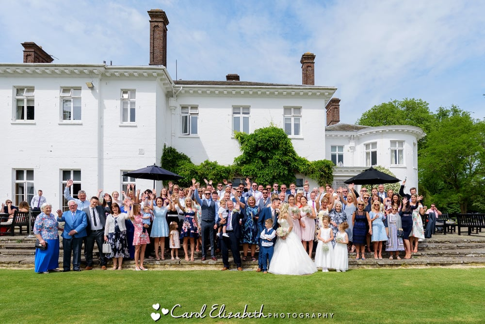 Milton Hill House Hotel wedding photography in Oxfordshire