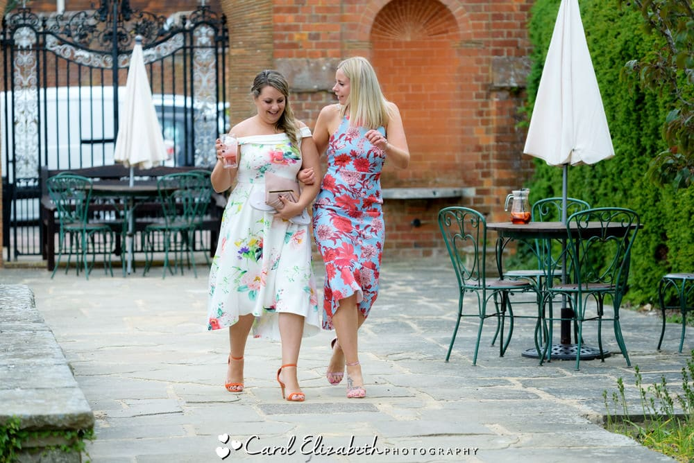 Candid guest photos at Milton Hill House