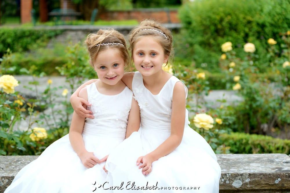Natural wedding photo of bridesmaids at Milton Hill House weddings