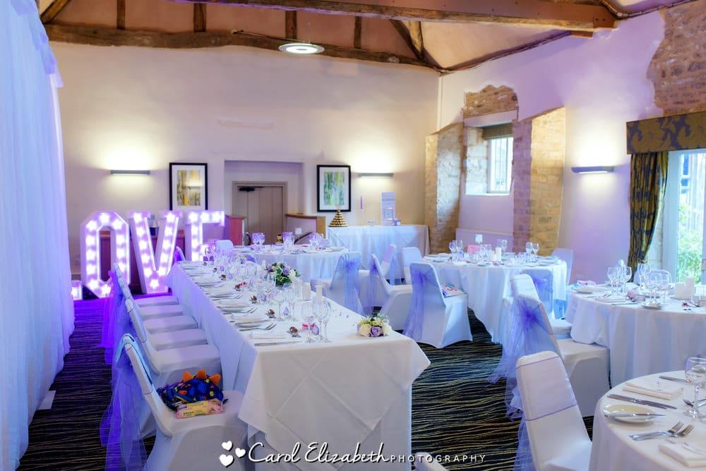 De Vere Oxford Thames Hotel wedding venue
