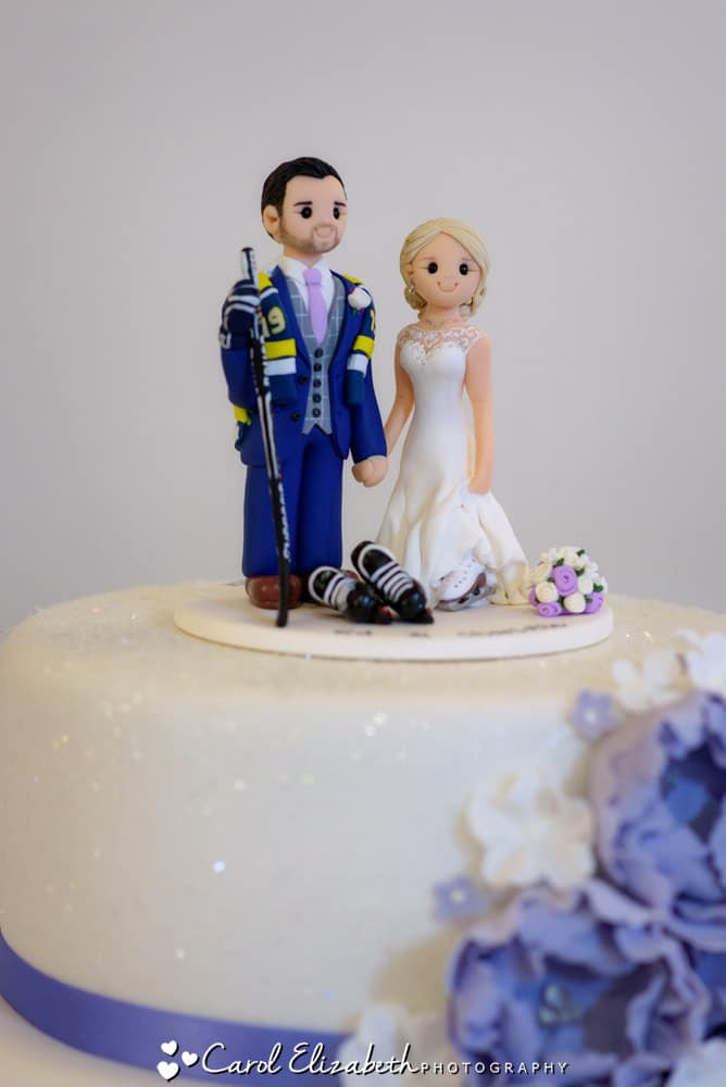 Artlocke Designs wedding cake topper