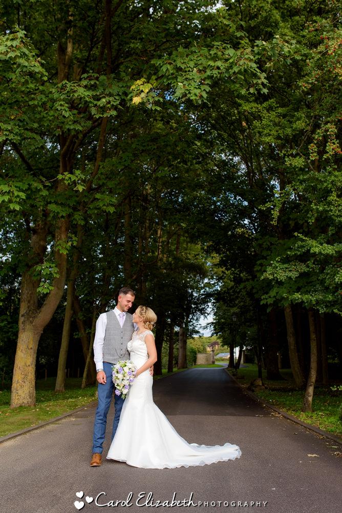 Oxford wedding photographer at Four Pillars Sandford