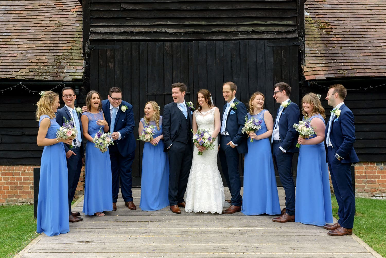 Lains Barn wedding photography