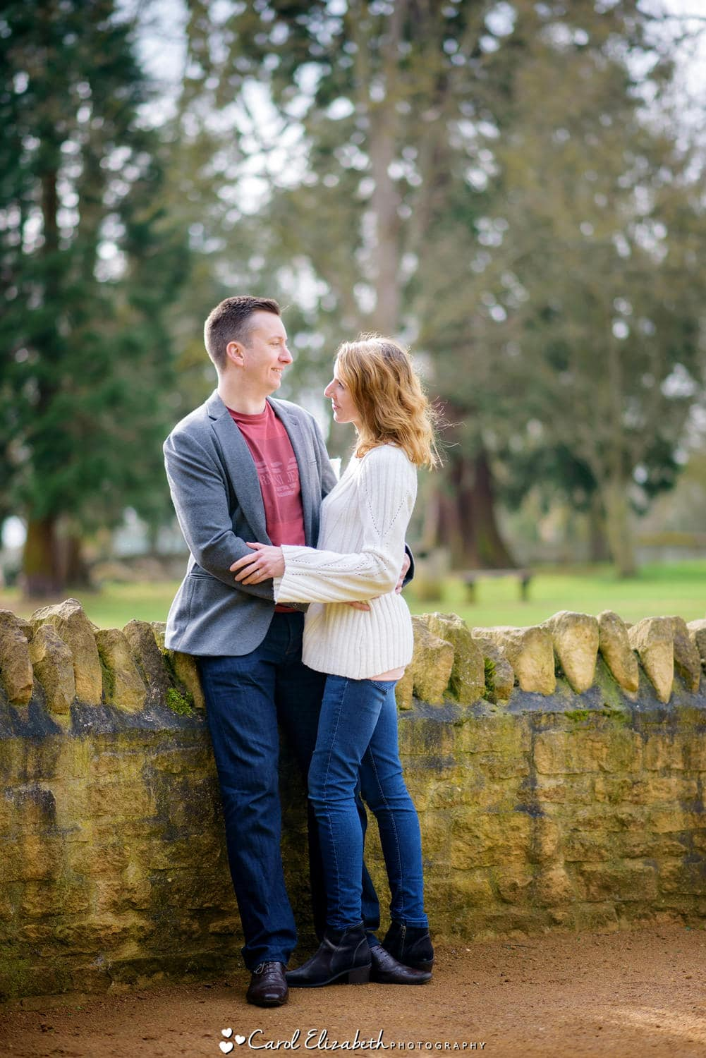 Oxfordshire engagement photography