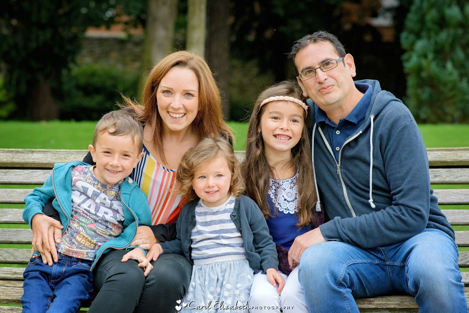 Oxfordshire family portraits