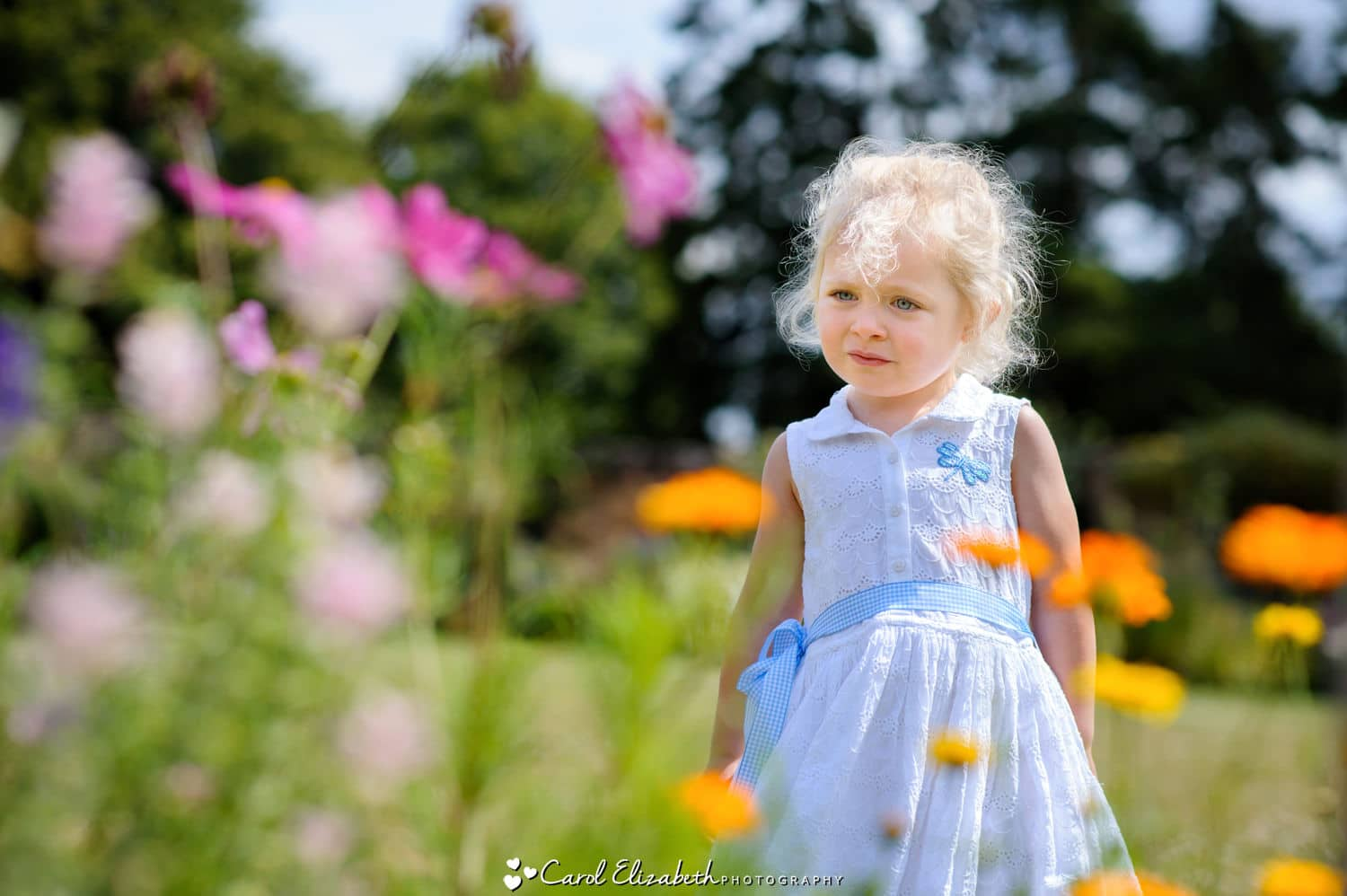 Summer outdoor photography in Oxfordshire